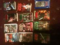 I have 14 Star Wars books for sale. Asking $3 a piece