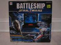 This is the original Star Wars Electronic Battleship in