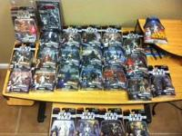Up for sale is a Lot of Star Wars figures in mint