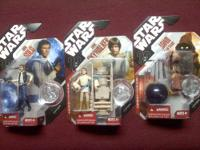 Lot of Star Wars figures. They're all in excellent