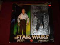I HAVE A COLLECTOR EDITION 12'' HANS SOLO. NEW IN