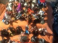 Over 50 Starwars figures plus extras all one money $65