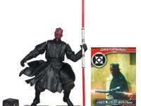 This fierce Star Wars Movie Legends DARTH MAUL Action