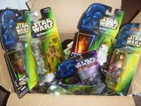16 BRAND NEW STAR WARS $100 for the box  Location: