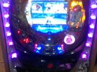 This is a Star Wars pachinko machine from Japan,  in