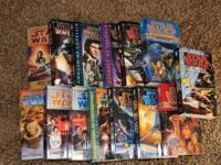 Star Wars soft cover books. Excellent condition. Look