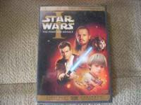 Star Wars (2 DVD's) ...in excellent condition. Call .