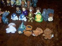 This is the complete set of Star Wars toys (47 pieces)