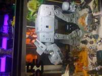 Lots and lots of star wars toys. from vintage 70s to