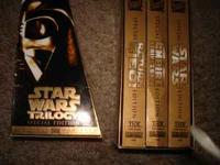 Star Wars Trilogy VHS $10  emails will only be answered
