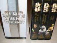 Star Wars VHS $5.00 e-mail or call  Location: Yuma