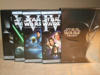 Star Wars Trilogy Dvd Collection .(Widescreen) Like