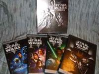 This is the dvd set of Star Wars included are A New