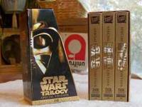 Original Star Wars Trilogy Special Edition on VHS.