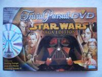 Trivial Pursuit DVD Star Wars Saga Edition from Parker