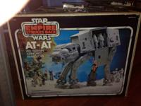STAR WARS vintage AT-AT in BOX from 1980. See photos.