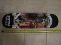 "Star Wars skateboard 31"" length. Call  Location:"