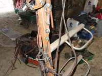 Med. Quality star bridle w/ very nice reins and sweet