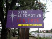 Star Automotive, newly opened. Honest reliable service
