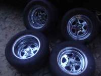 I HAVE A SET OF real deal CRAGER STAR WHEELS FOR SALE