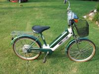This is a Star Moon Electric Bicycle.  This bike goes
