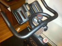 Like-new spin bike. Just under 6 months old.