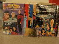 Star Trek Complete Set 9 Plates 1984 Susie Morton: