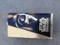 Star Wars Trilogy Special Edition VHS boxed set....Star
