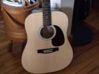 I have a like new starcaster acoustic guitar has new