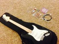 I have a Starcaster Electric Guitar by Fender. It is a