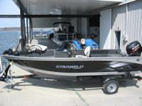 New 2015 16Ft STARWELD SC this 16Ft Side console is