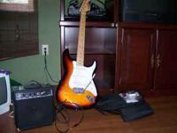 Starcraft by Fender Electric Guitar. Comes with