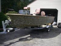 Must sell 16 FT StarCraft Deep V hull Duck / Fishing