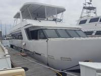 Live aboard or party boat or business opportunity.