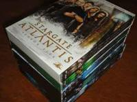 Stargate Atlantis seasons 1-4 All disks are in great