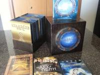 Stargate SG-1 complete series collector's edition with