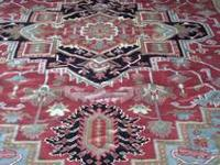 STARK Carpet, 100% Wool...retails 14K. sell for 5K.
