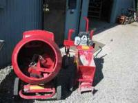 Only Uses Once Kwik Curb Cement Mow Strip Machine W/