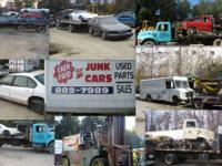 GOT Junk Vehicles? WE PAY CASH show contact details.