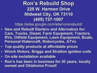 Ron's Rebuild Shop has been repairing and rebuilding