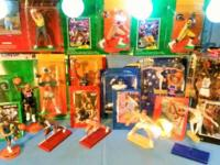 Starting Line Up Men & Women Sports Figures (opened and