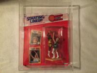 1989 edition of Starting Lineup Magic Johnson vs Larry