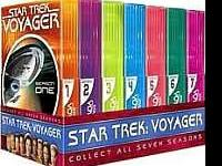 I have the full Star Trek voyager series in brand new