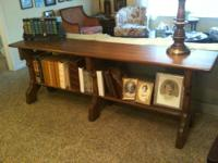 Stately Historic Library Table for Sale Location: St.