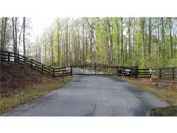 Build your dream home on the water! Large wooded
