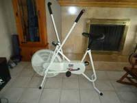 I am selling this stationary bike only because I really