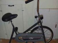 Small stationary exercise bike for someone that would