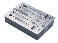 3 Channel House/Techno Mixer 3 deck / 6 line / 2 mic