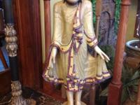 "Statue for sale. 40""H x 16""W at widest point. In"