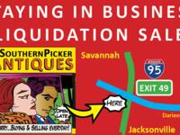 Staying in Business Liquidation Sale at Southern Picker